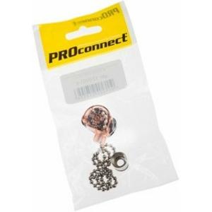 Выключатель PROconnect 32-0101-9 для настенного светильника с цепочкой 270 мм Silver