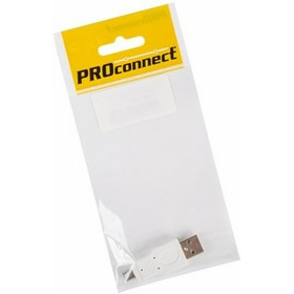 Переходник USB PROconnect 18-1174-9 штекер USB-A - штекер mini USB 5 pin, 1 шт.
