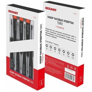 Набор часовых отверток Rexant 12-6041 TORX 7 предметов