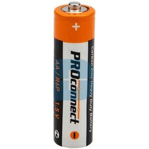 Солевая батарейка PROconnect 30-0010 AA (R6P) (4 штуки)