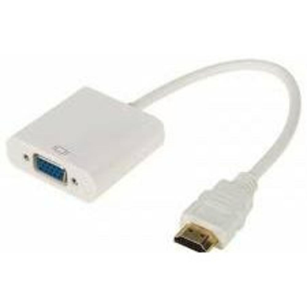 Переходник Rexant 17-6934 шт. HDMI - гн. VGA (провод) + 3.5 mm Аудио с питанием