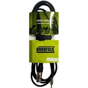 Кабель аудио 1xMini Jack - 1xXLR NORDFOLK NXJ003/3 3.0m