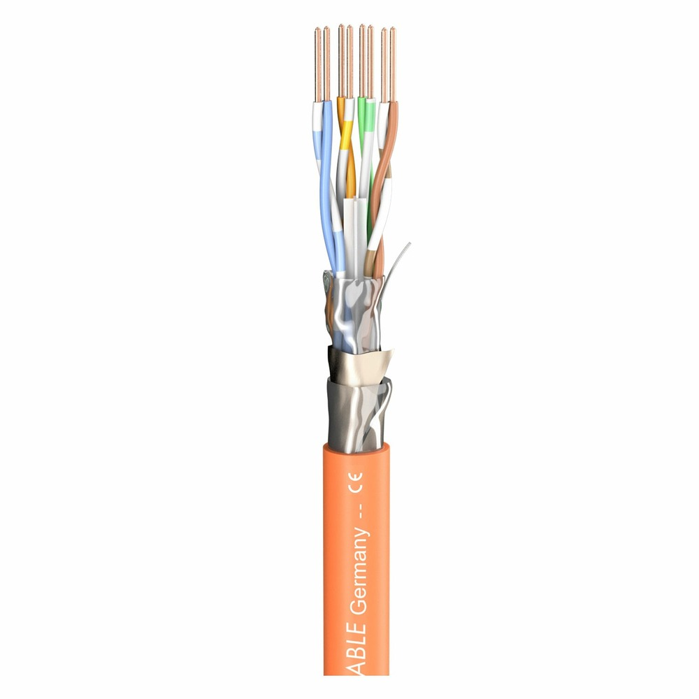 Кабель витая пара Cat.6 4 пары с экраном Sommer Cable 580-0465FC SC-Mercator CAT.6a CPR-Version
