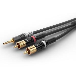 Кабель аудио 1xMini Jack - 2xRCA Sommer Cable HBP-3SC2-0090 9.0m