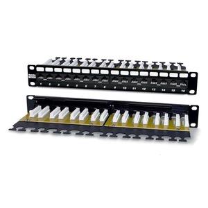 """Патч-панель 19"""" Hyperline PP2-19-12-8P8C-C6-110D"""