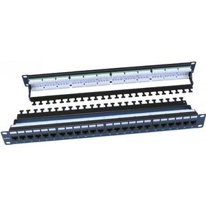 """Патч-панель 19"""" Hyperline PP3-19-24-8P8C-C6-110D"""