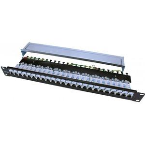 "Патч-панель 19"" Hyperline PP3-19-24-8P8C-C5E-SH-110D"