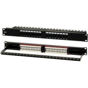 """Патч-панель 19"""" Hyperline PP2-19-16-8P8C-C6-110D"""