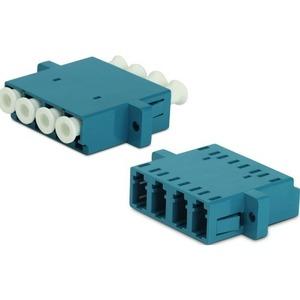 Оптический проходной адаптер LC-LC Hyperline FA-P11Z-QLC/QLC-N/WH-BL