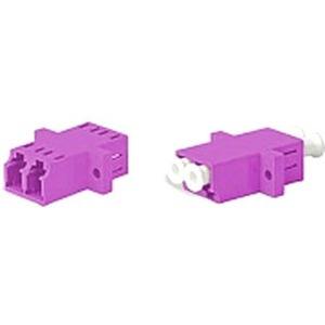 Оптический проходной адаптер LC-LC Hyperline FA-P11Z-DLC/DLC-N/WH-MG
