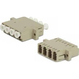 Оптический проходной адаптер LC-LC Hyperline FA-P11Z-QLC/QLC-N/WH-BG