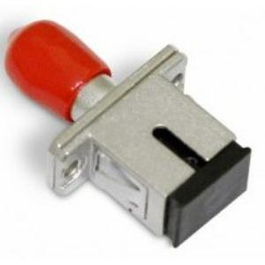 Оптический проходной адаптер SC-ST Hyperline FA-S11Z-SC/ST-N/RD-SL