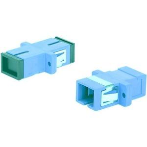 Оптический проходной адаптер SC-SC Hyperline FA-P11Z-SC/SC-N/BK-AQ