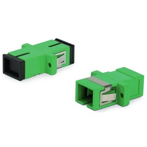 Оптический проходной адаптер SC-SC Hyperline FA-P11Z-SC/SC-N/BK-GN
