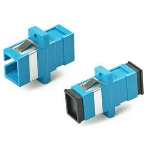 Оптический проходной адаптер SC-SC Hyperline FA-P11Z-SC/SC-N/BK-BL