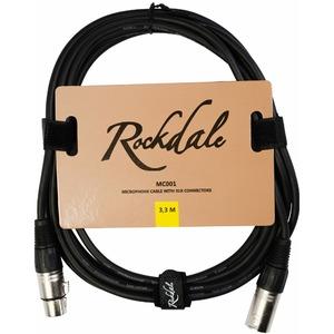 Кабель аудио 1xXLR - 1xXLR Rockdale MC001.10 3.3m