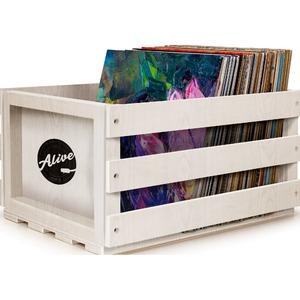 Кейс для хранения винила Alive Audio Nature White