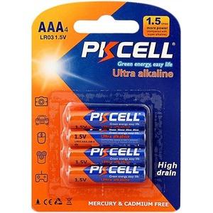 Батарейка PKCELL LR03-4B тип - AAА 4 шт в блистере