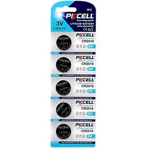 Батарейка PKCELL CR2016-5B тип - CR2016 5 шт в блистере