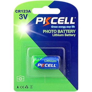 Батарейка PKCELL CR123A-1B тип - CR123A 1 шт в блистере
