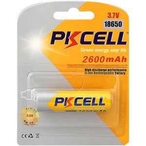 Аккумулятор PKCELL 18650 2600-1B тип - 18650 1 шт в блистере