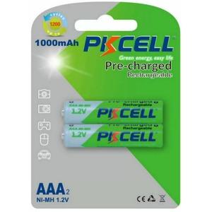 Аккумулятор PKCELL NI-MH RTU AAA1000-2B тип - AAA 2 шт в блистере