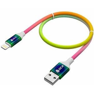 Кабель USB 2.0 Тип А - Lightning Greenconnect GCR-52229 0.9m