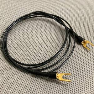 Кабель Phono Spade - Spade WireWorld Ground 2.0m