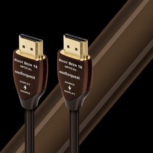 Гибридный оптический HDMI кабель Audioquest HDMI Root Beer 18 PVC 15.0m