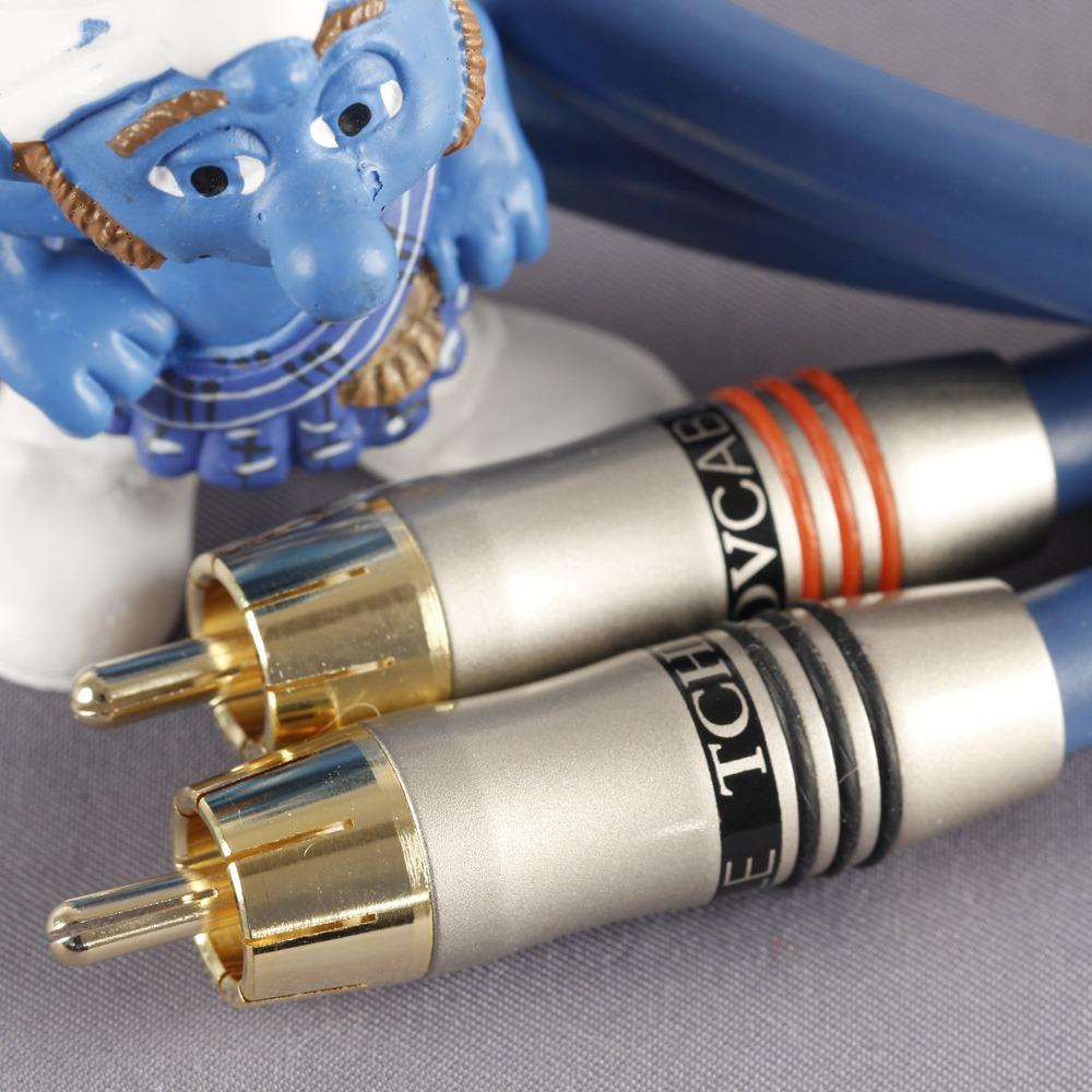 Кабель аудио 2xRCA - 2xRCA Tchernov Cable Special IC RCA 1.65m