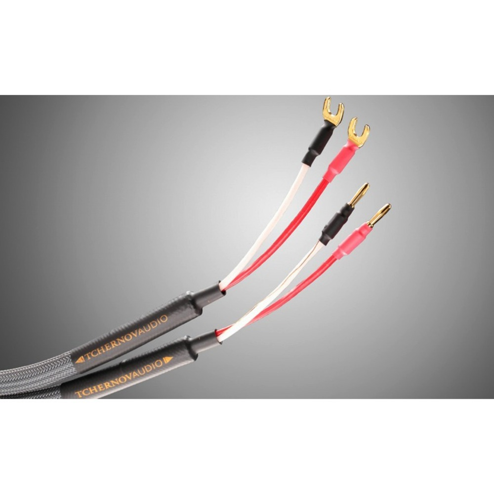 Акустический кабель Single-Wire Spade - Banana Tchernov Cable Special XS SC Sp/Bn 1.65m