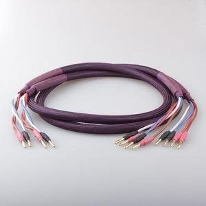 Акустический кабель Bi-Wire Banana - Banana Tchernov Cable Classic BI-WIRE SC Bn/Bn 1.65m