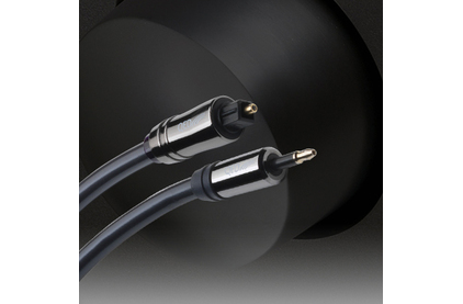 Кабель оптический Toslink - mini Toslink QED (QE7103) Performance Optical Graphite (Toslink-Mini) 3.0m