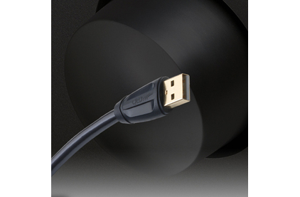 Кабель USB 2.0 Тип A - B QED (QE6901) Performance USB (A-B) Graphite 1.5m