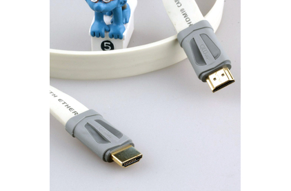 Кабель HDMI - HDMI QED (QE7404) Performance e-Flex HDMI White 5.0m