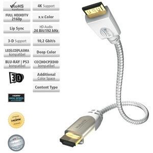 Кабель HDMI - mini HDMI Inakustik 00423207 Premium HDMI Mini 0.75m
