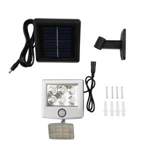 Прожектор Lamper 602-248 LED 98х150х30 мм с выносной солнечной панелью 2 м и аккумулятором
