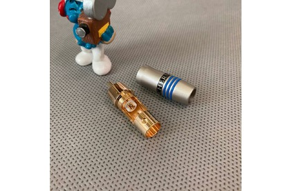Разъем RCA (Папа) Tchernov Cable RCA Plug Original Blue