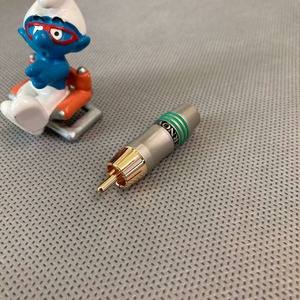 Разъем RCA (Папа) Tchernov Cable RCA Plug Original Green