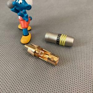 Разъем RCA (Папа) Tchernov Cable RCA Plug Original Yellow
