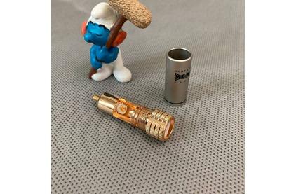 Разъем RCA (Папа) Tchernov Cable RCA Plug Classic G Black