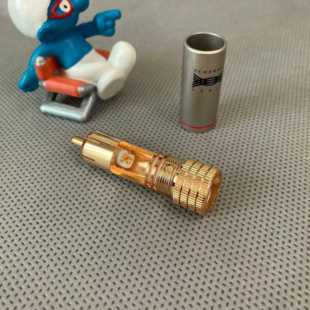 Разъем RCA (Папа) Tchernov Cable RCA Plug Classic G Red