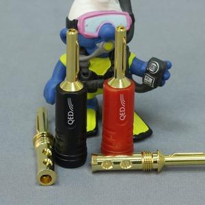 Разъем Банана QED (QE1885) Screwloc Plastic Banana Set-10