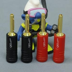 Разъем Банана QED (QE1880) Screwloc Plastic Banana Set-4
