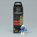 Разъем Лопатка QED (QE1890) Screwloc Plastic Spade Set-4