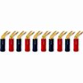 Разъем Лопатка QED (QE1895) Screwloc Plastic Spade Set-10