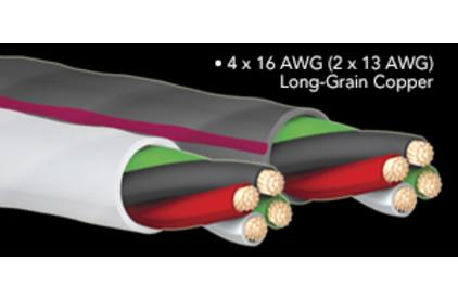 Кабель акустический Bi-Wire Audioquest SLiP-16/4 Grey