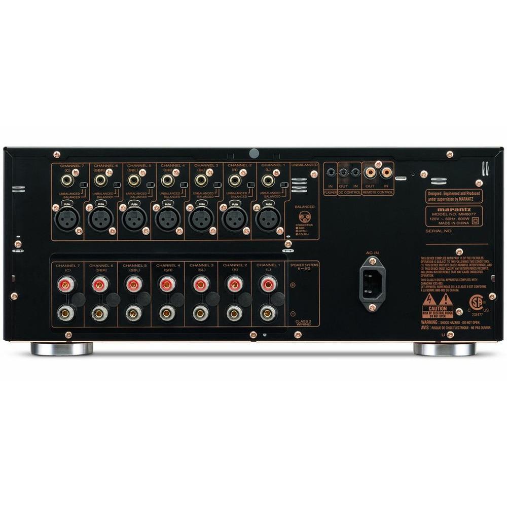 Усилитель мощности Marantz MM8077 Black