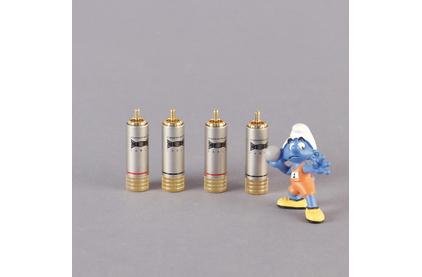 Разъем RCA (Комплект) Tchernov Cable RCA Plug Classic G (4 штуки)