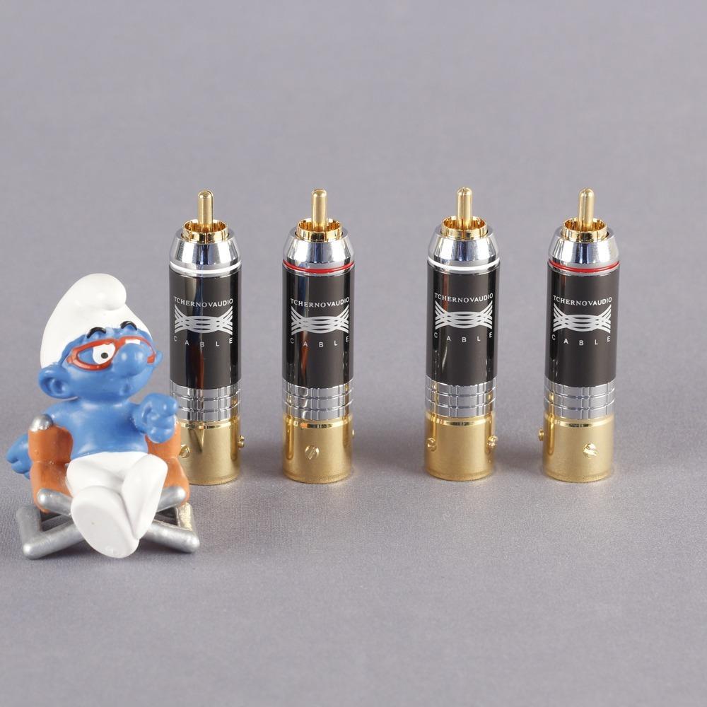 Разъем RCA (Комплект) Tchernov Cable RCA Plug Reference G (4 штуки)